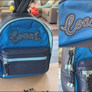 Coach Vale medium Charlie Backpack & Wallet Combo